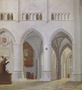 Pieter Jansz Saenredam Interior of the Church of St Bavon at Haarlem (mk05) oil painting picture wholesale